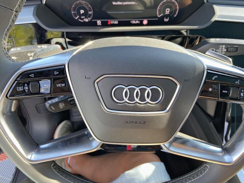 Audi e-tron Sportback 55 QUATTRO 408 SLINE GPS Toit Pano JA21 Attelage Gris occasion à Montauban - photo n°16