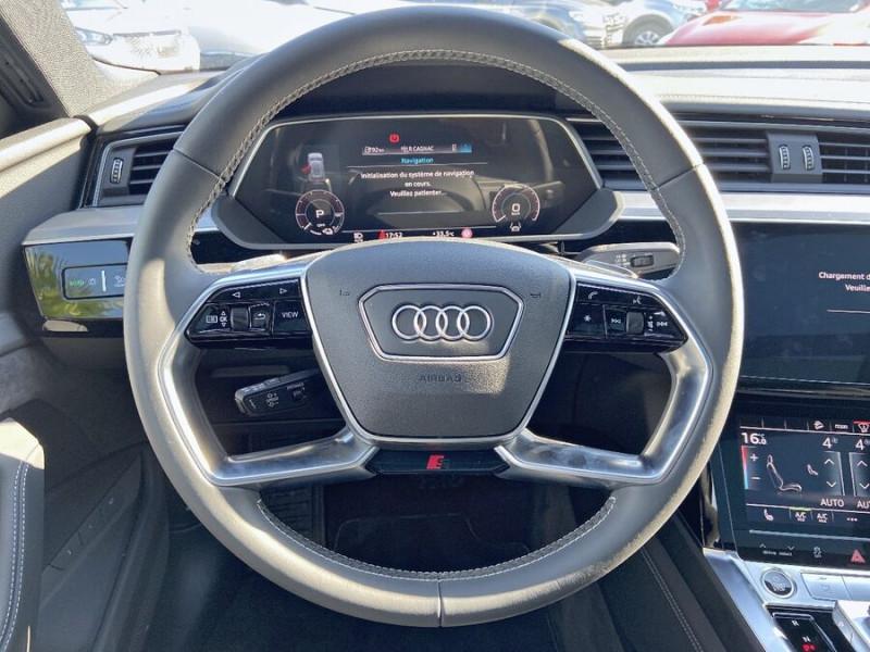 Audi e-tron Sportback 55 QUATTRO 408 SLINE GPS Toit Pano JA21 Attelage Gris occasion à Montauban - photo n°13