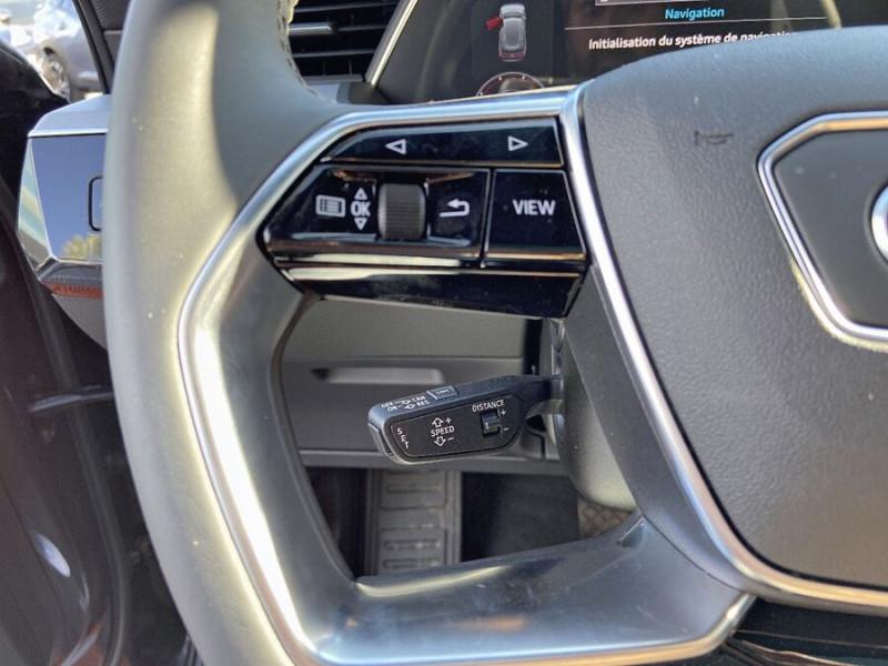 Audi e-tron Sportback 55 QUATTRO 408 SLINE GPS Toit Pano JA21 Attelage Gris occasion à Montauban - photo n°17