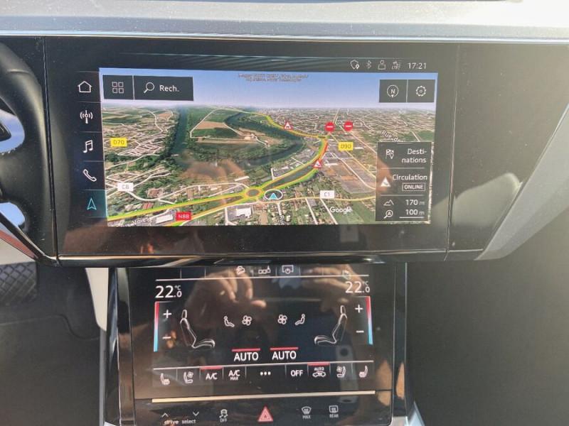 Audi e-tron Sportback 55 QUATTRO 408 SLINE GPS Toit Pano JA21 Rétros virtuels  occasion à Cahors - photo n°15