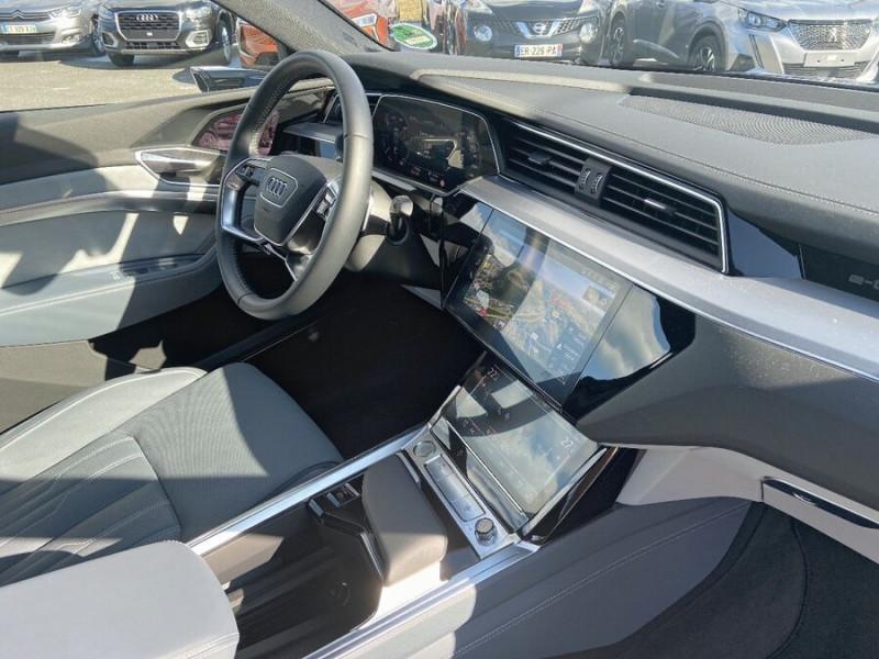 Audi e-tron Sportback 55 QUATTRO 408 SLINE GPS Toit Pano JA21 Rétros virtuels  occasion à Cahors - photo n°10