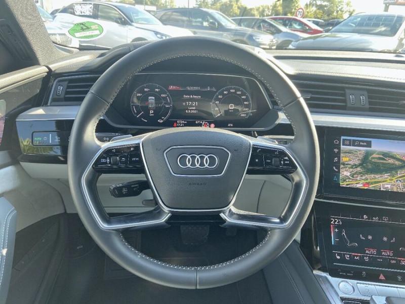 Audi e-tron Sportback 55 QUATTRO 408 SLINE GPS Toit Pano JA21 Rétros virtuels  occasion à Cahors - photo n°14