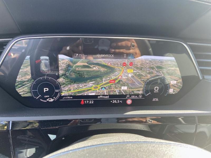 Audi e-tron Sportback 55 QUATTRO 408 SLINE GPS Toit Pano JA21 Rétros virtuels  occasion à Cahors - photo n°17