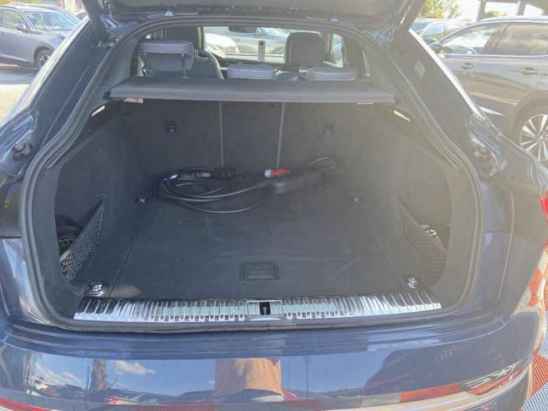Audi e-tron Sportback 55 QUATTRO 408 SLINE GPS Toit Pano JA21 Rétros virtuels  occasion à Cahors - photo n°7
