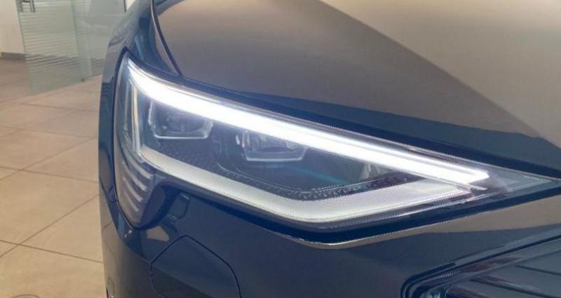 Audi E-tron 50 230ch Avus e-quattro 12cv Noir occasion à Chambourcy - photo n°5