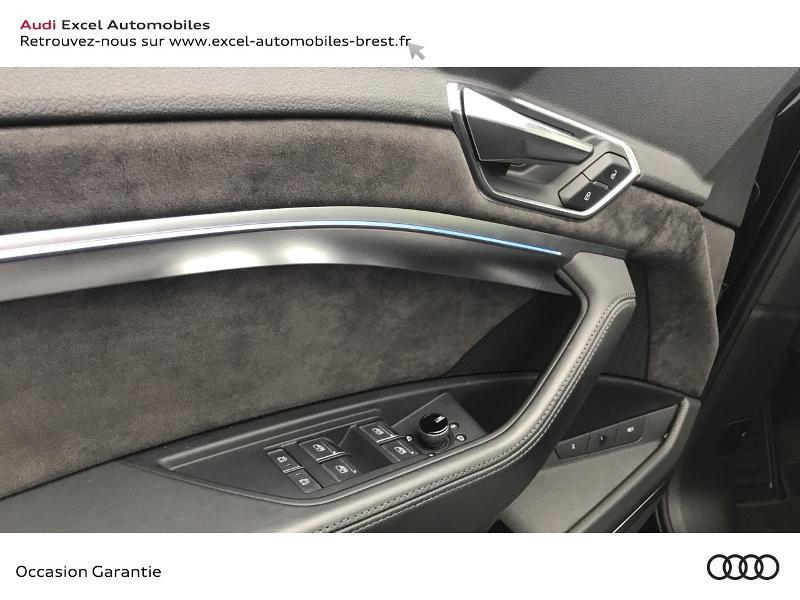 Audi E-tron 55 360ch Avus Extended e-quattro Noir occasion à Brest - photo n°11