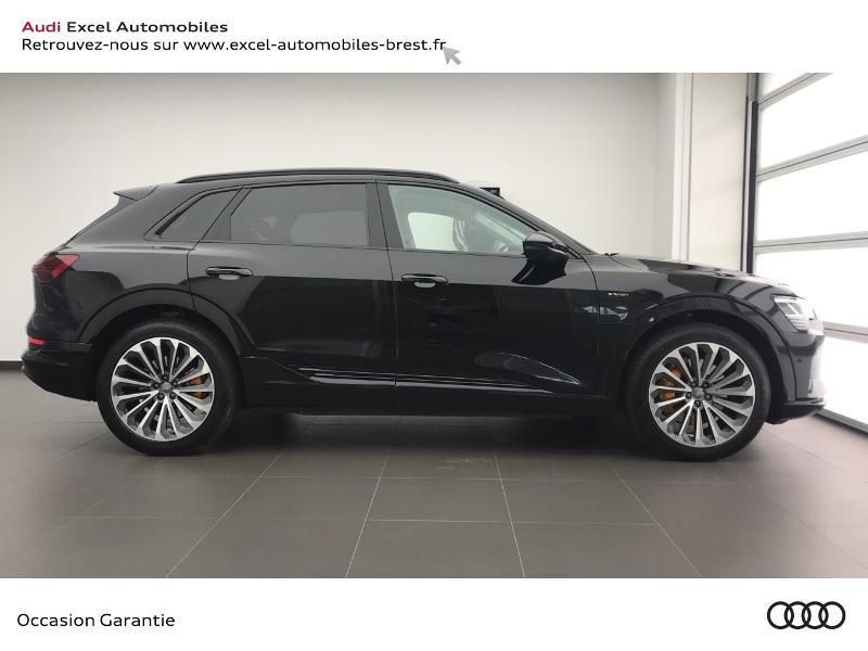 Audi E-tron 55 360ch Avus Extended e-quattro Noir occasion à Brest - photo n°3