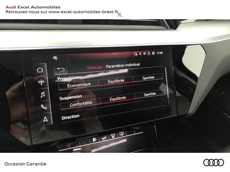 Audi E-tron 55 360ch Avus Extended e-quattro Noir occasion à Brest - photo n°15