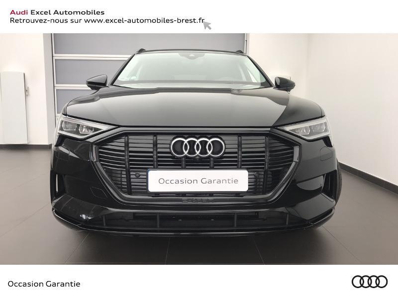 Audi E-tron 55 360ch Avus Extended e-quattro Noir occasion à Brest - photo n°2