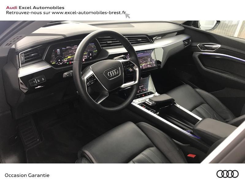 Audi E-tron 55 360ch Avus Extended e-quattro Noir occasion à Brest - photo n°6