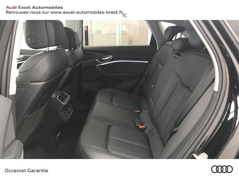 Audi E-tron 55 360ch Avus Extended e-quattro Noir occasion à Brest - photo n°8