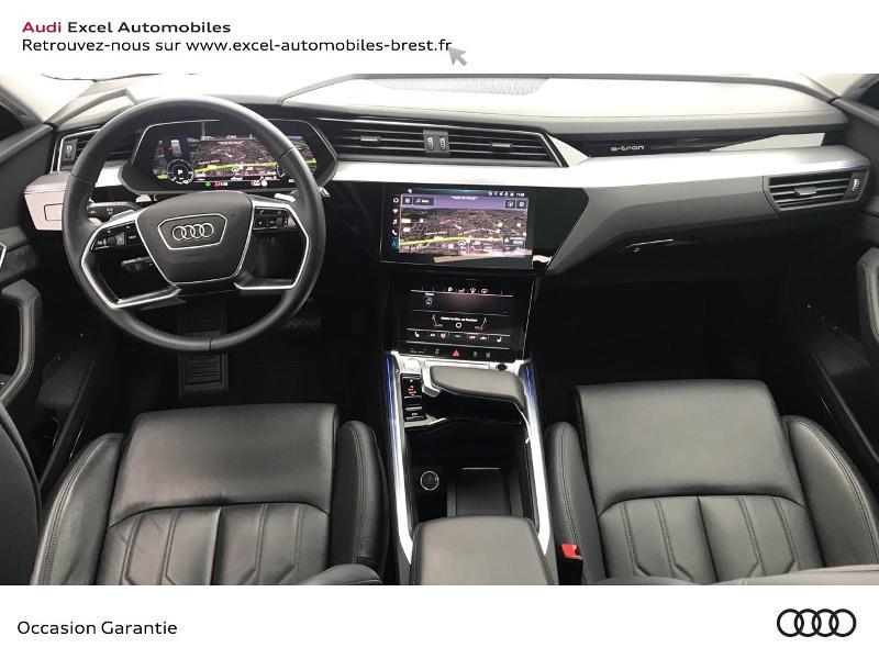 Audi E-tron 55 360ch Avus Extended e-quattro Noir occasion à Brest - photo n°7