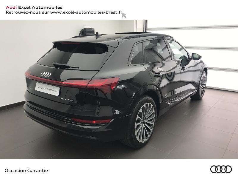 Audi E-tron 55 360ch Avus Extended e-quattro Noir occasion à Brest - photo n°4