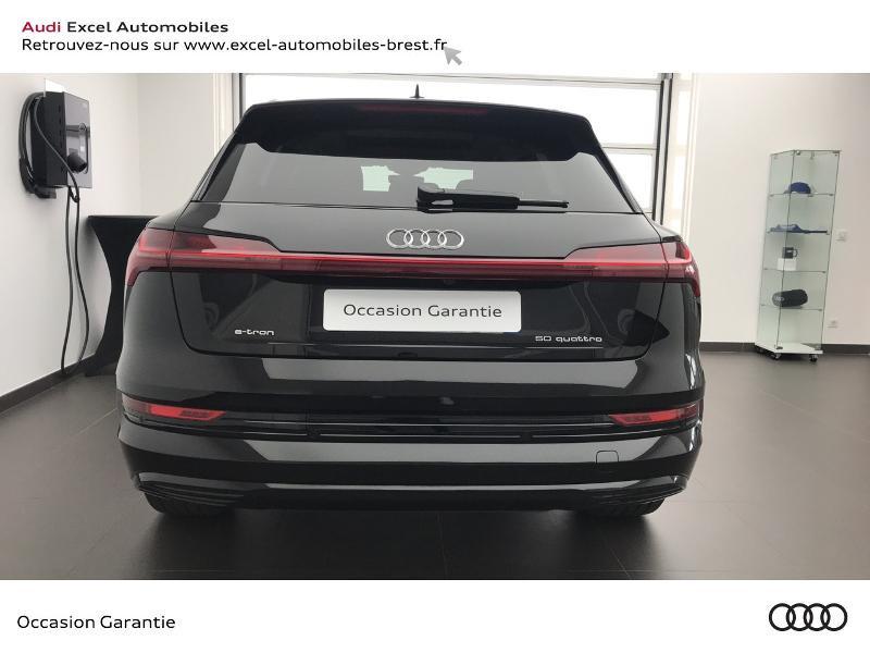 Audi E-tron 55 360ch Avus Extended e-quattro Noir occasion à Brest - photo n°5