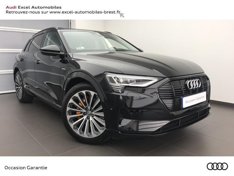 Audi E-tron 55 360ch Avus Extended e-quattro Noir occasion à Brest