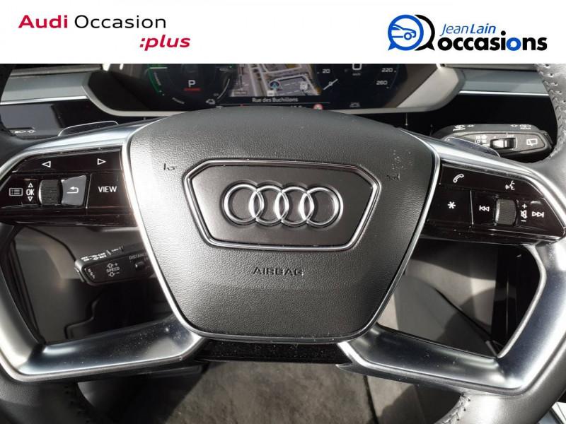 Audi E-tron e-tron 55 quattro 408 ch Avus 5p Noir occasion à Annemasse - photo n°12