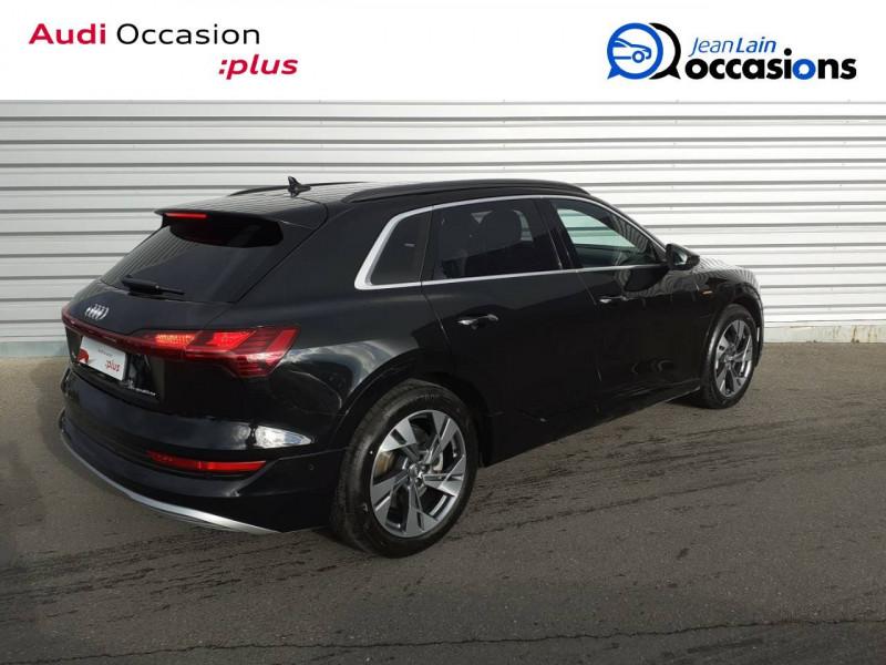 Audi E-tron e-tron 55 quattro 408 ch Avus 5p Noir occasion à Annemasse - photo n°5