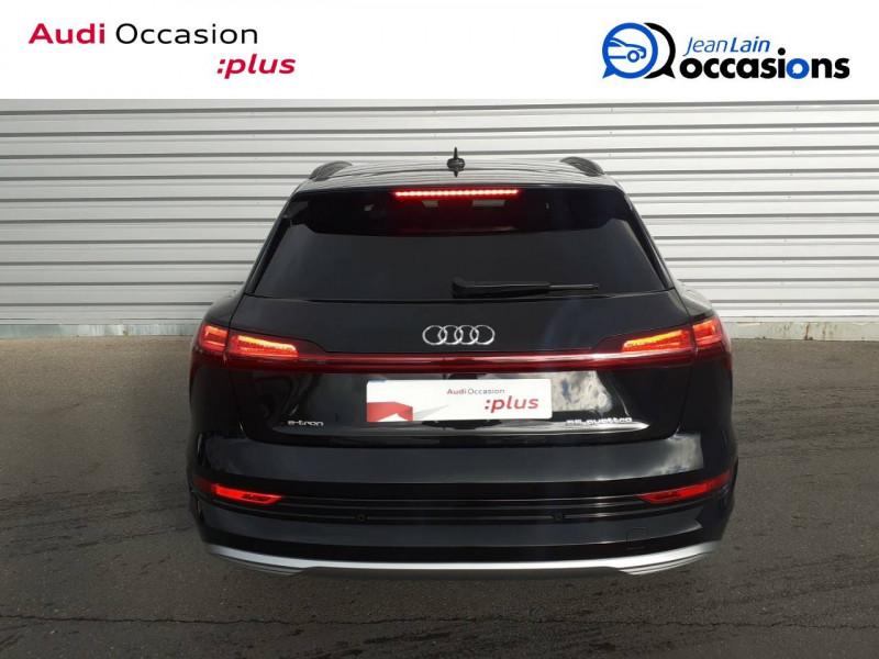 Audi E-tron e-tron 55 quattro 408 ch Avus 5p Noir occasion à Annemasse - photo n°6