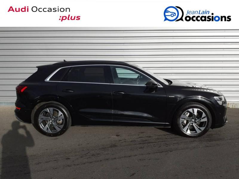 Audi E-tron e-tron 55 quattro 408 ch Avus 5p Noir occasion à Annemasse - photo n°4