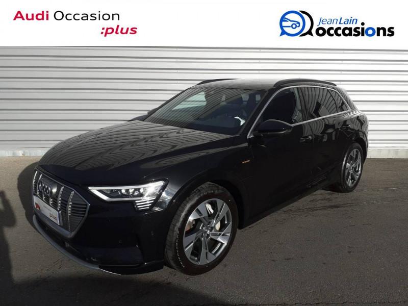 Audi E-tron e-tron 55 quattro 408 ch Avus 5p Noir occasion à Annemasse