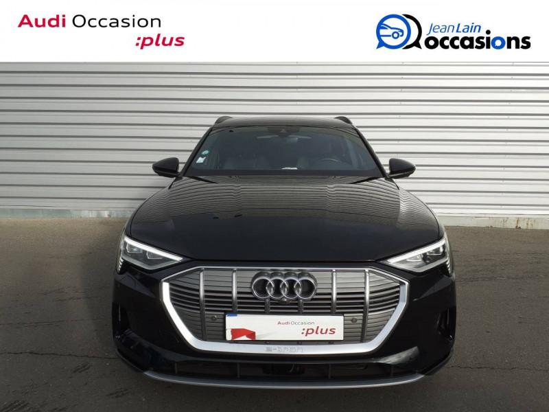 Audi E-tron e-tron 55 quattro 408 ch Avus 5p Noir occasion à Annemasse - photo n°2