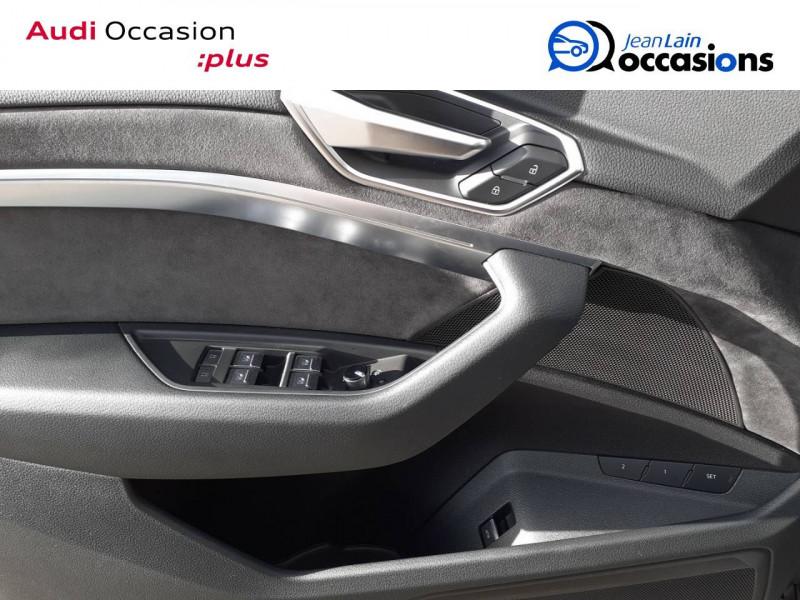 Audi E-tron e-tron 55 quattro 408 ch Avus 5p Noir occasion à Annemasse - photo n°19