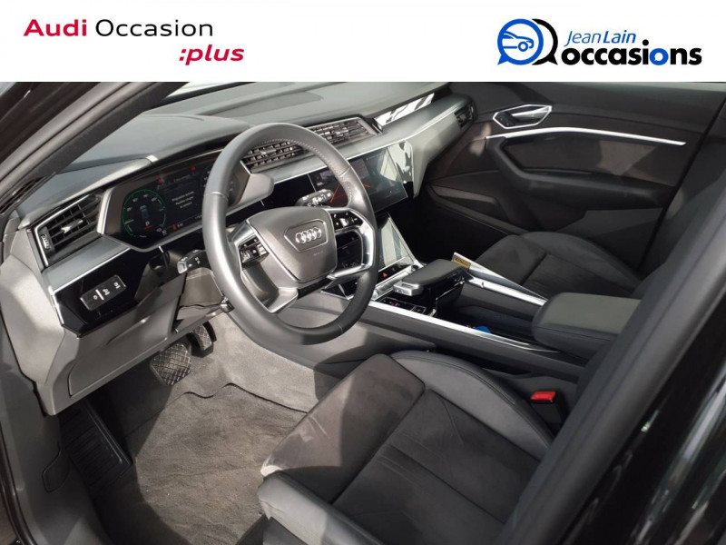 Audi E-tron e-tron 55 quattro 408 ch Avus 5p Noir occasion à Annemasse - photo n°11
