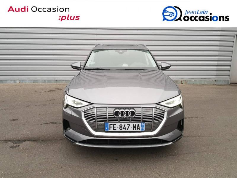 Audi E-tron e-tron 55 quattro 408 ch Avus Extended 5p Gris occasion à Seynod - photo n°2