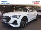 Audi E-tron e-tron Sportback 55 quattro 408 ch S line 5p Blanc à Échirolles 38