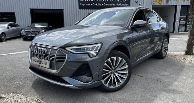 Audi E-tron SPORTBACK 50 230CH S LINE E-QUATTRO Gris occasion à GUER
