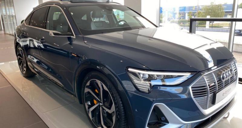 Audi E-tron SPORTBACK Sportback 55 quattro 408 ch S line Bleu occasion à Bourgogne