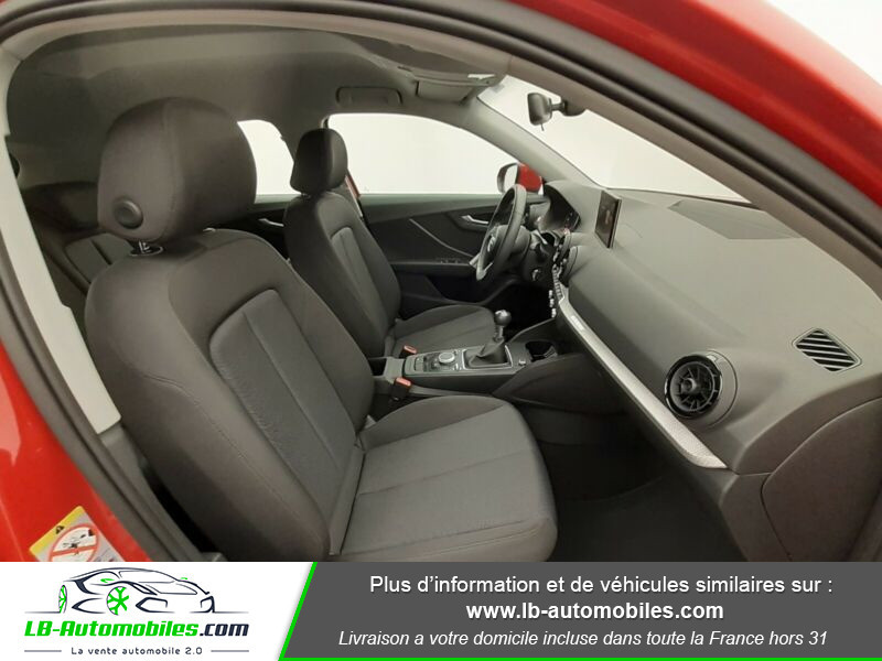 Audi Q2 1.4 TFSI 150 ch Rouge occasion à Beaupuy - photo n°4