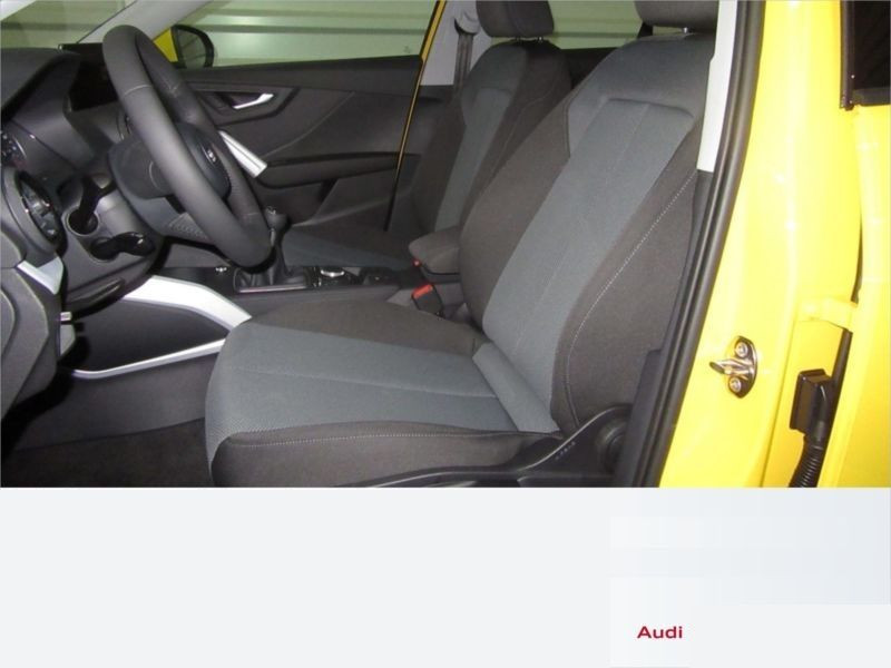 Audi Q2 1.4 TFSI 150 cv Jaune occasion à Beaupuy - photo n°5