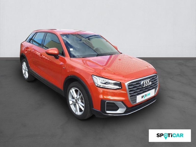Audi Q2 1.4 TFSI 150ch COD S line S tronic 7 Orange occasion à Figeac - photo n°3