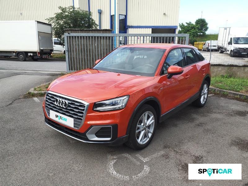 Audi Q2 1.4 TFSI 150ch COD S line S tronic 7 Orange occasion à Figeac - photo n°18