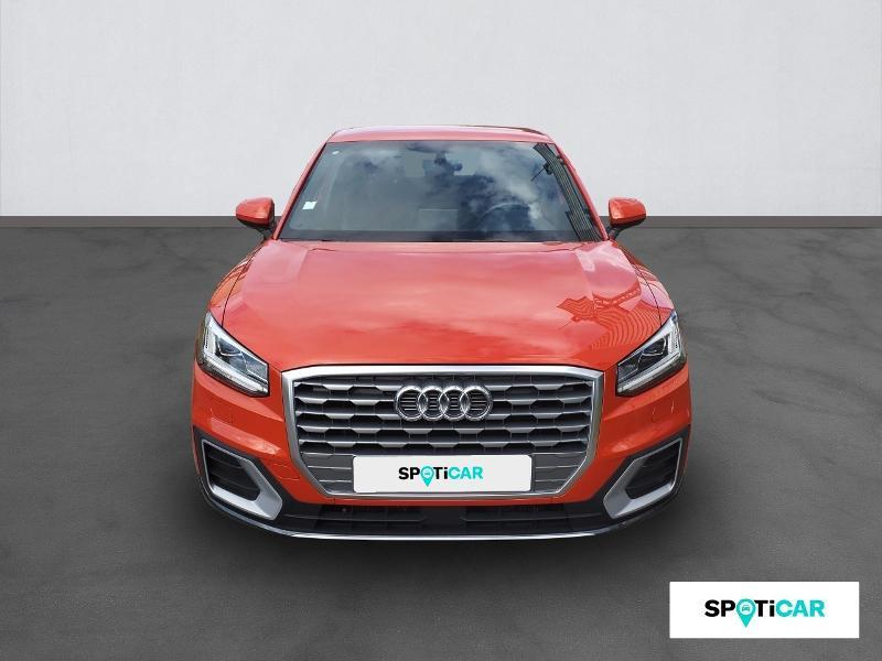 Audi Q2 1.4 TFSI 150ch COD S line S tronic 7 Orange occasion à Figeac - photo n°2