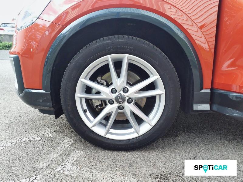 Audi Q2 1.4 TFSI 150ch COD S line S tronic 7 Orange occasion à Figeac - photo n°11