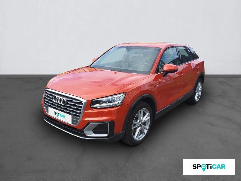 Audi Q2 1.4 TFSI 150ch COD S line S tronic 7 Orange occasion à Figeac