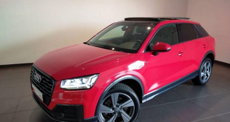 Audi Q2 1.4 TFSI COD 150 ch BVM6 Design Luxe Rouge occasion à Chenove