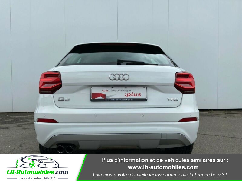 Audi Q2 1.4 TFSI COD 150 ch BVM6 Blanc occasion à Beaupuy - photo n°11