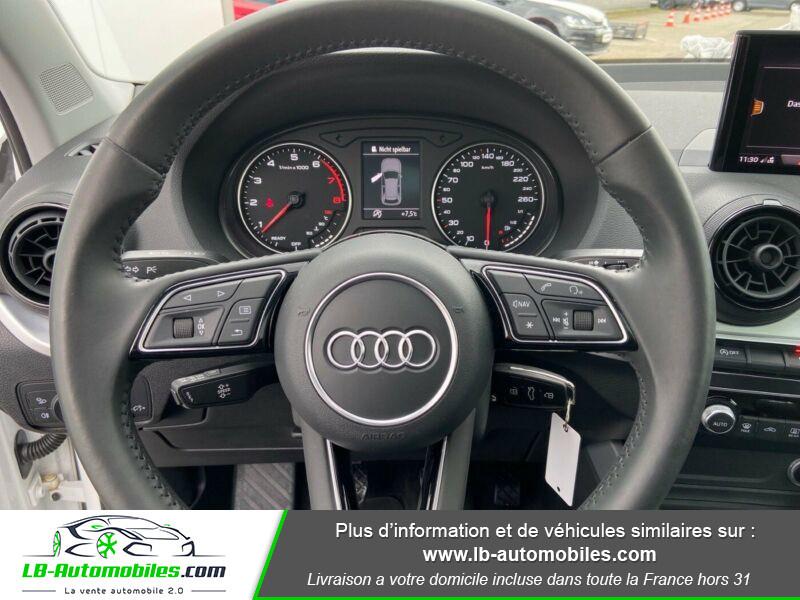 Audi Q2 1.4 TFSI COD 150 ch BVM6 Blanc occasion à Beaupuy - photo n°2