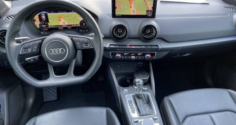 Audi Q2 2.0 TDI 190 ch S tronic 7 Quattro Design Luxe Gris occasion à Saint-Ouen - photo n°5