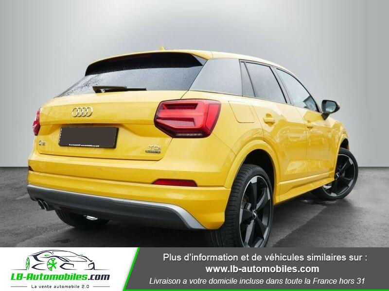 Audi Q2 2.0 TDI 190 ch S tronic 7 Quattro / S-Line Jaune occasion à Beaupuy - photo n°3