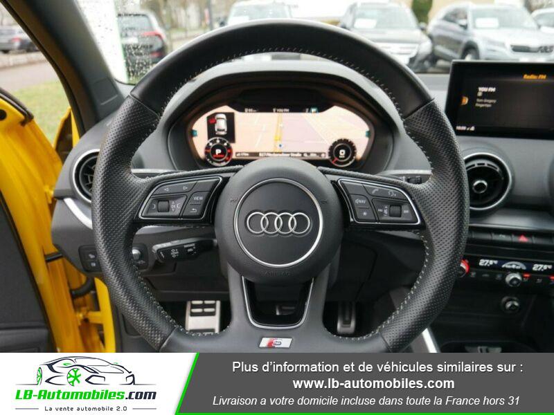 Audi Q2 2.0 TDI 190 ch S tronic 7 Quattro / S-Line Jaune occasion à Beaupuy - photo n°2