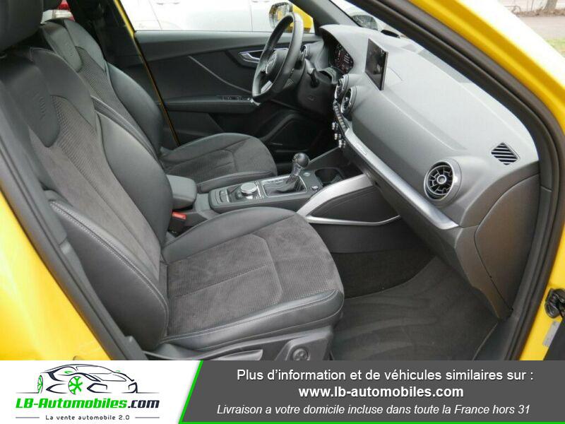 Audi Q2 2.0 TDI 190 ch S tronic 7 Quattro / S-Line Jaune occasion à Beaupuy - photo n°5