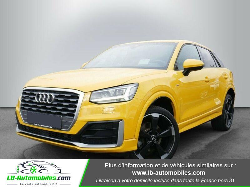 Audi Q2 2.0 TDI 190 ch S tronic 7 Quattro / S-Line Jaune occasion à Beaupuy
