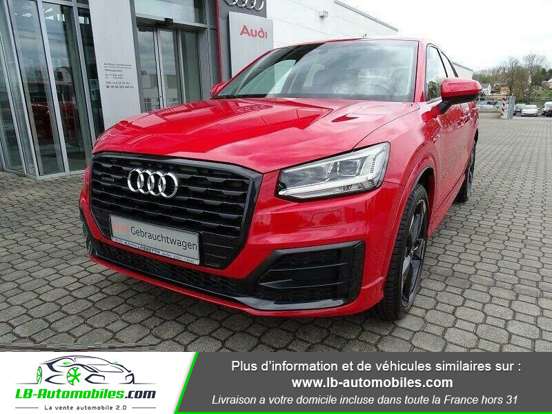 Audi Q2 2.0 TDI 190 ch S tronic 7 Quattro / S-Line Rouge occasion à Beaupuy