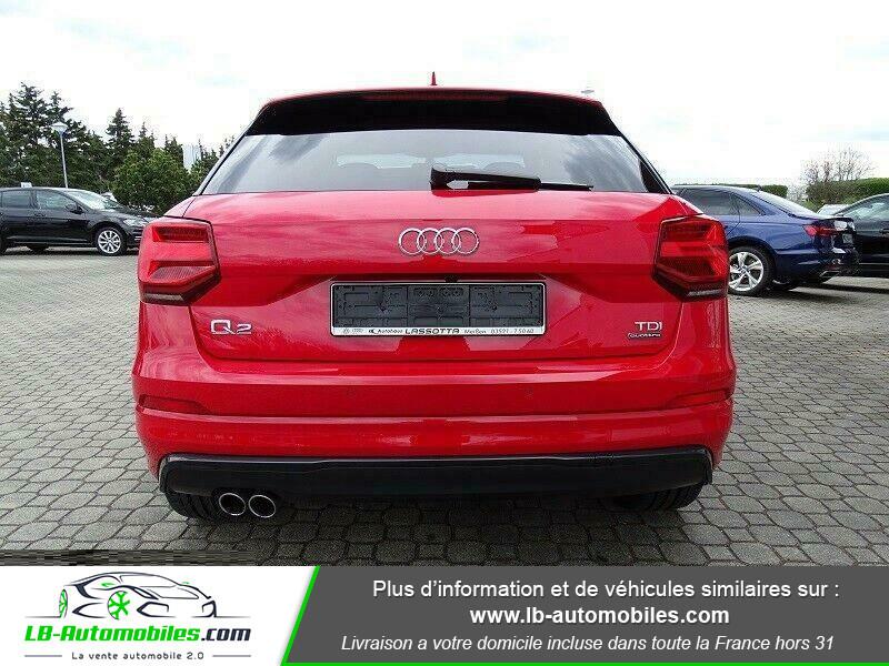 Audi Q2 2.0 TDI 190 ch S tronic 7 Quattro / S-Line Rouge occasion à Beaupuy - photo n°10