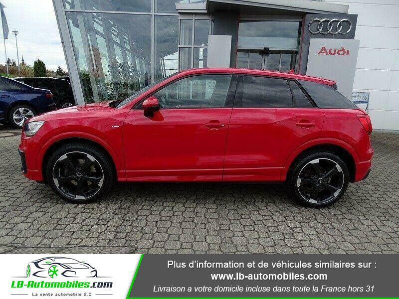 Audi Q2 2.0 TDI 190 ch S tronic 7 Quattro / S-Line Rouge occasion à Beaupuy - photo n°9