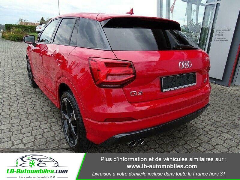 Audi Q2 2.0 TDI 190 ch S tronic 7 Quattro / S-Line Rouge occasion à Beaupuy - photo n°3